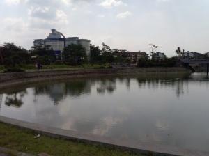 Si Danau 'Galau' Telkom University